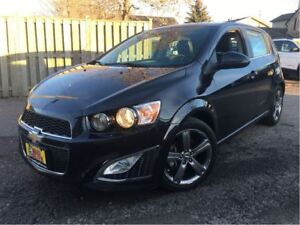 2015 Chevrolet Sonic RS Auto LEATHER MOONROOF