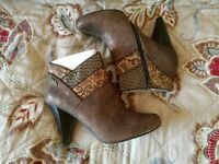 Ruby shoo ankle boots new in box size 8 gift idea