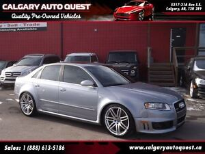 2007 Audi RS 4 4.2L (QUATTRO AWD) NAVIGATION/LEATHER/ROOF