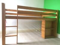 Cabin bed mid sleeper