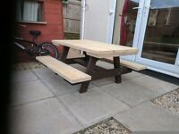Kids 4ft ×4ft picnic bench (NEW SOLID BUILT TO LAST)