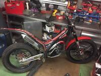 Gasgas 250 trials bike