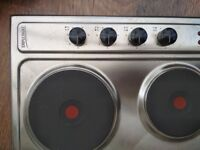 Brand new DIPLOMAT stainless steal electric hob
