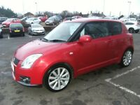 2009 09 SUZUKI SWIFT 1.6 SPORT 3D 124 BHP **** GUARANTEED FINANCE **** PART EX WELCOME