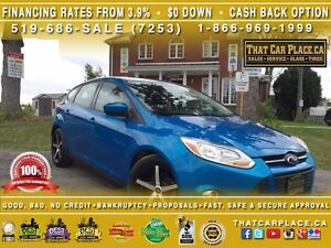 2012 Ford Focus SE-$53/Wk-Hatch-TowHitch-Keyless-Mp3/AUX/CD-Rims