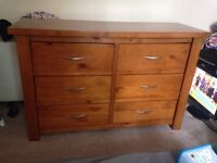 Excellent chest of drawers needs new home.