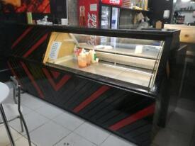 Display counter fridge