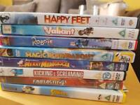 Kids dvd bundle 8 discs