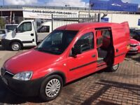 2006 06 VAUXHALL COMBO CDTI DIESEL WITH SAT NAV VERY RARE! SUPERB DRIVE WILL BE SOLD WITH NEW MOT !!