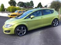 SEAT LEON 1.6 TDI EMOCION CR 2010 ***MOT AUGUST 2018*** £20 ROAD TAX***