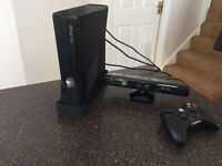 X box and Kinnect plus 5 games