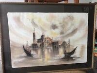 Framed Venetian Canvas