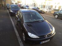 Peugeot 206 Hatchback, Petrol, 5 door, 70k Miles, £850 ONO Perfect run around or first car!