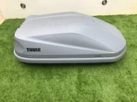 Thule Touring S 100 Roofbox Grey - good condition.