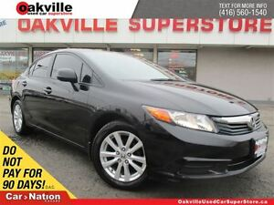 2012 Honda Civic EX MODEL | ALLOY WHEELS | MOONROOF |