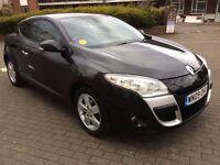 Renault Megane 1.5 dCi Dynamique 2dr 2009 black colour 1 year mot £30 road tax for 1 year£2950/-