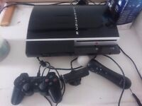 Sony Playstation 3 with move and games
