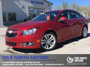 2014 Chevrolet Cruze LTZ RS Leather Moonroof Navigation