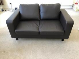 Sofa and armchair for sale - £90
