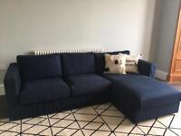 IKEA Vimle sofa with chaise