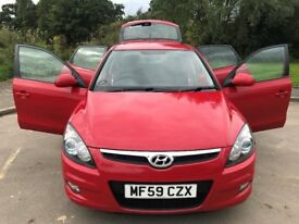Fantastic Value 2009 59 Hyundai i30 Comfort 1.4 5Dr Hatch 82000 Miles One Owner HPI Clear SEP 18 MOT
