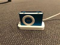 Apple iPod shuffle 2nd Gen (Late 2008) blue