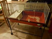 Guinea pig rabbit cage and stand