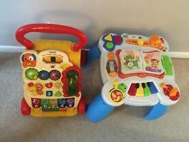 Baby walker & activity table