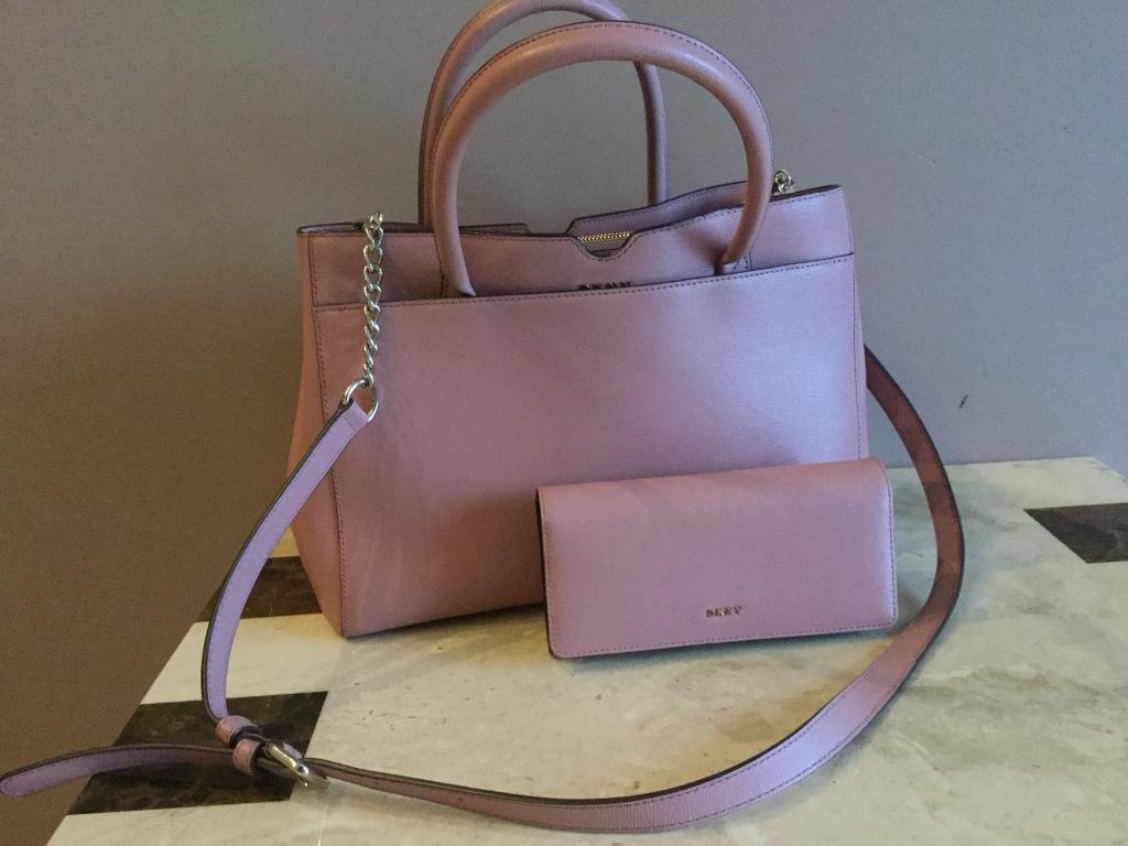 ... Genuine DKNY Matching Bag and Purse new styles a0ea8 3e0ee  Used Celine  Nano Luggage bag black ... 5d58e0d9c3f7d