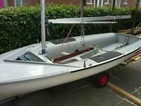420 Sailing Dinghy