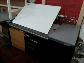 Draughtsman's Desk. Sturdy and Robust. Delivery Available