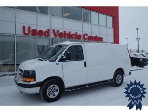 2016 GMC Savana Cargo Van, Keyless Entry, 16,649 KMs, 4.8L V8