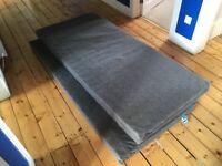 Two Ikea single mattresses