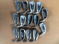14 ping demo heads,right handed all 7 irons