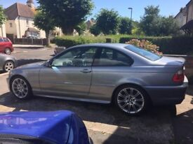 BMW 330CD E46 Coupe M Sport Manual Leather