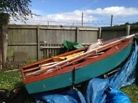 Sailing dinghy + accessories