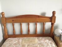 Single Bed - High Quality Pine Wood Bed Frame