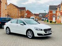 2015 PEUGEOT 508 BLUE HDI ALLURE, SAT NAV, REVERSE CAMERA, PARKING SENSORs, FULL MOT, HISTORY,