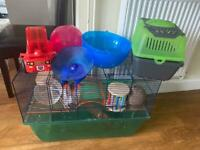 Gerbil/Hamster/Mouse Cage & LOTS of Accessories