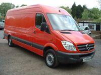 SPRINTER 311 LWB 2009 DIRECT FROM R-MAIL DRIVES SUPERB FSH £3995 NO-VAT