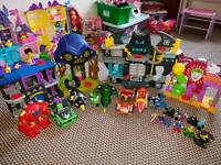 Imaginext large bundle see pics needs gone today!