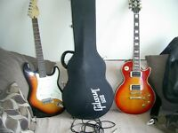 GIBSON EPIPHONE CUSTOM + 2003 + ANOTHER ENCORE LEAD GUITAR AND 40W CRATE AMP