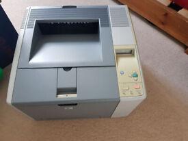 Laser printer HP 2420DN + spare toner