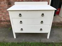 Vintage/shabby chic drawer unit