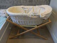 Mamas&Papas Moses basket with mattress