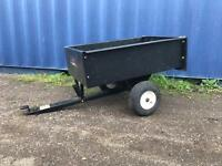 Brinley Ride On Mower Tipping trailer