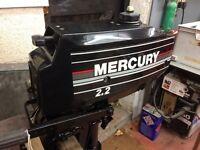 Mercury 2.2 Standard Shaft Outboard Motor