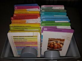 100's of recipe cards