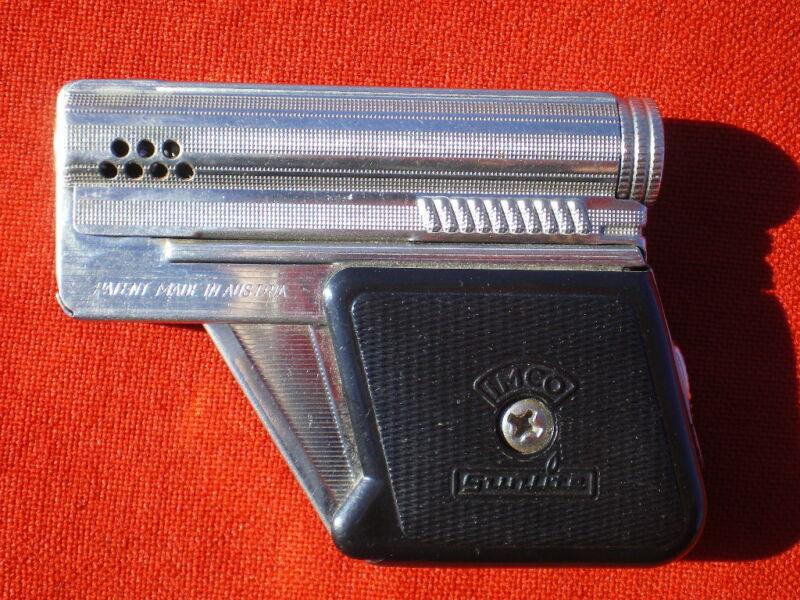 Vintage Petrol Lighter. IMCO