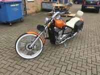 Custom Chopper Bobber....250cc...1 Owner from New...New MOT....Stunning Custome paint